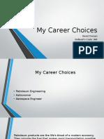 My Career Choicessafa