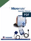 721U0201 Rev 03 - Micromate Operator Manual