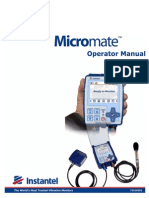 721U0201 Rev 03 - Micromate Operator Manual