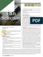 Basic Fan Selection