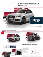 Audi Q5 Sport Edition Plus Brochure (DE)