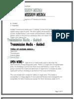transmssion Media