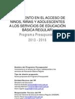 Acceso Serv Educacion