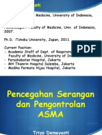 Pencegahan & Pengontrolan Asma