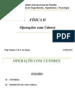 01 - Operações Com Vetores