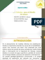 2.0 II_ Criterios Para El Diseño de Talues