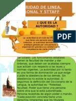 Autoridad y Staff - Administración básica