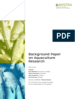 Aquaculture Research