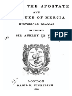 Julian the Apostate & the Duke of Mercia - Sir Aubrey de Vere 1858