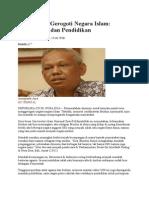 Azyumardi Azra- Yang Masih Gerogoti Negara Islam Kemiskinan Dan Pendidikan