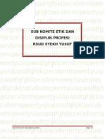 Subkomite Etika Dan Disiplin Profesi