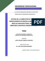 Tesis Mezclas de Etanol y Gasolina 2014