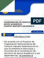 Coordinación de Servicios de Apoyo Académico