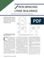 Chevron Bracing in Low-Rise Buildings