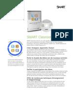 Factsheet SMART Classroom Suite FR