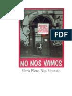 Ma Elena Ríos Montaño - No Nos Vamos