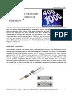 Important Components for 40 100G Ethernet Migration