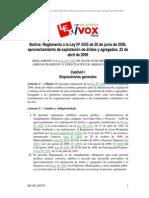 DS Nº 91 Reglamento a la Ley Nº 3425 Competencia de los Gobiernos Municipales en el Manejo de Áridos