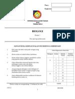 Bio Paper 2 Akhir Tahun 2015 DONE