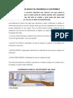 EL AHORRO DE AGUA Y EL DESARROLLO SOSTENIBLE-1.doc