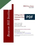 BHI Health Care Reform as Job Killer(5)