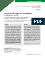 calidad de vida en paciente oncologicos
