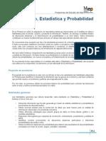 Tercer Ciclo Estadistica y Probabilidad