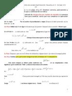 Ejemplos integracion por cambio de variables