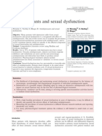 Antidepressants and Sexual Dysfunction