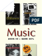 University of Illinois Press Fall 2009 Music Book Catalog