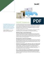 Factsheet SMART Notebook 10 DE