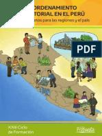 Cartilla El Ordenamiento Territorial en El Perú