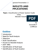 Classification of Power System Faults Using Wavelet Transform
