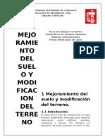 Mejoramiento Del Suelo y Mod. Del Terreno 2015