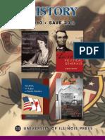 University of Illinois Press Spring 2010 History Book Catalog