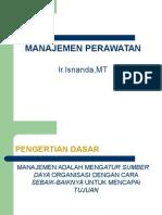 Modul 1 Manajemen Perawatan