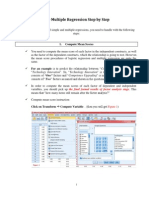 3.2 Multiple Regression Step by Step