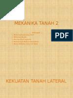 Materi Mekanika Tanah 2 Presentasi