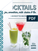 Mocktails, Jus, Smoothies, Milk-shakes - Dominique Sauvages