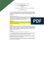 Ley de Gestión Integral de Riesgos Socionaturales Y Tecnológicos