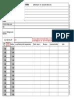 Lesson Training Planner Calculator