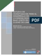Viviendas Sociales de Bajo Costo (Peru)
