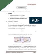 LAB No 2 - Ley de Ohm y Resistividad Electrica 2015-III