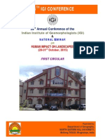 28IGI Conference_First Circular