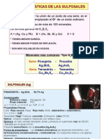 CAP VIII Sulfosales