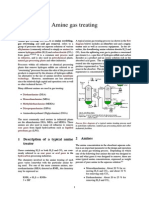 Amine Gas Treating
