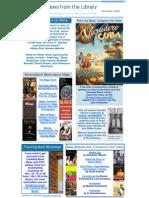 November - Newsletter 2009