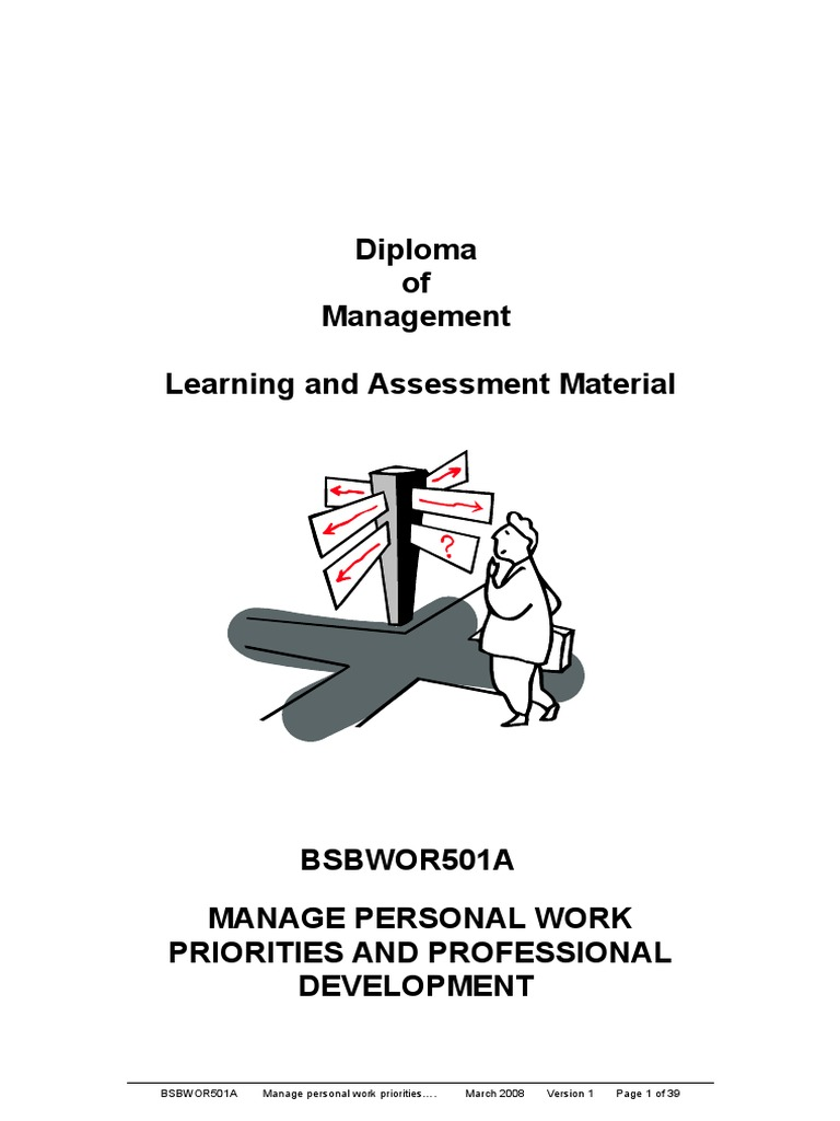 Manage personal work priorities and professional development goal manage personal work priorities and professional development goal swot analysis fandeluxe Choice Image