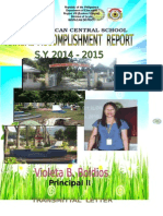 Annual Accomplishment ICS 2014 15