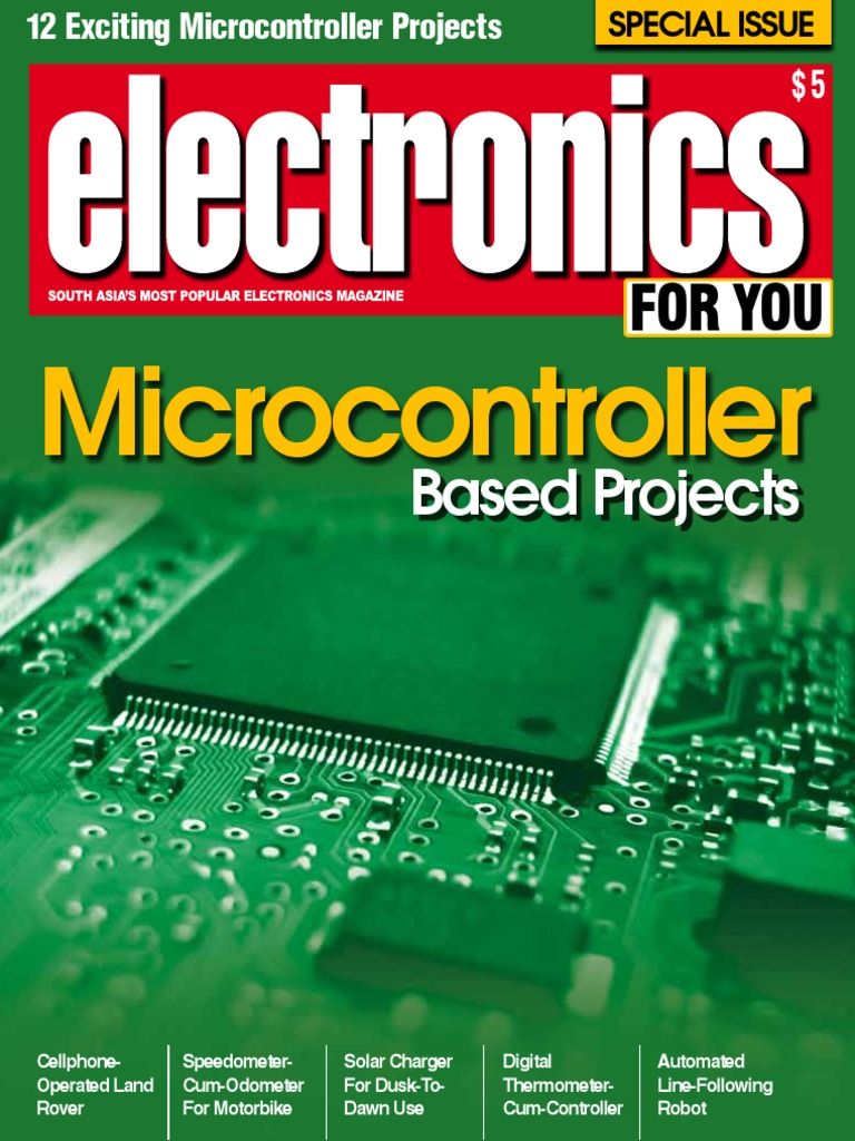 EFY Special Isuue Microcontroller based project.pdf | Digital ...
